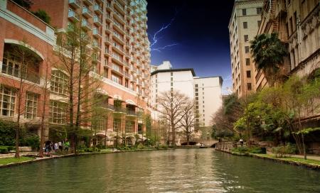 antonio: River and Buildings of San Antonio, Texas