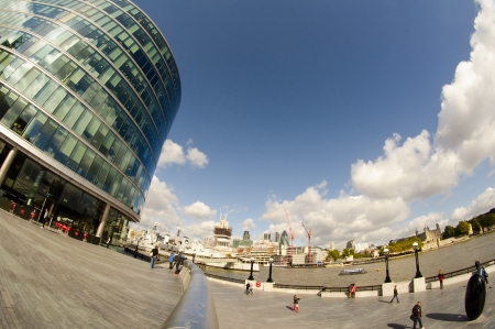 Modern Architecture of London - UK Stock Photo - 16532022