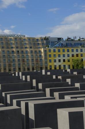 holocaust: Holocaust Memorial, Berlin, Germany Editorial