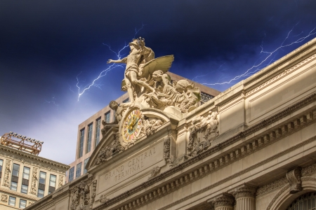 Grand Central Station Exterior view in New York City, USA Stock Photo - 16823765