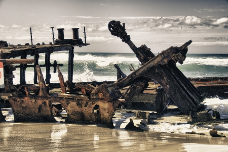 Fraser Island Detail in Queensland, Australia Stock Photo - 17017244
