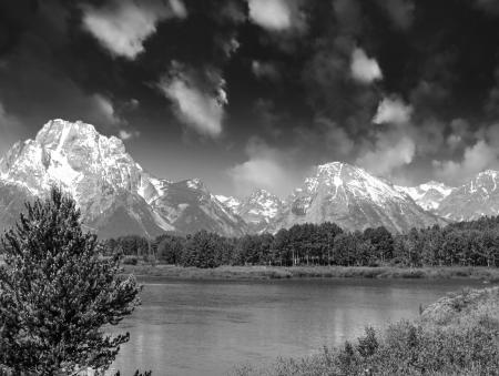 Landscape of Grand Teton National Park photo