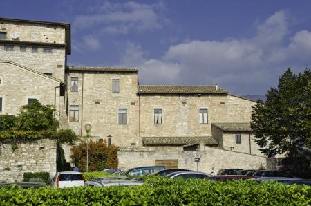 spello: Ancient Architecture of Spello in Umbria, Italy Stock Photo