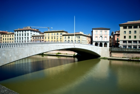 Ponte di Mezzo in Pisa, Italy Stock Photo - 17560553