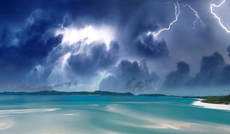 whitsundays: Wonderful colors of Whitsunday Islands on winter season, Australia