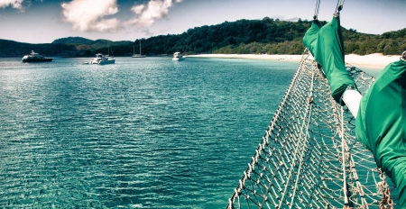 airlie: Paradise of Whitsunday Islands National Park, Australia