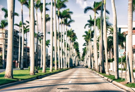 Couleurs de Miami en Floride, USA Banque d'images
