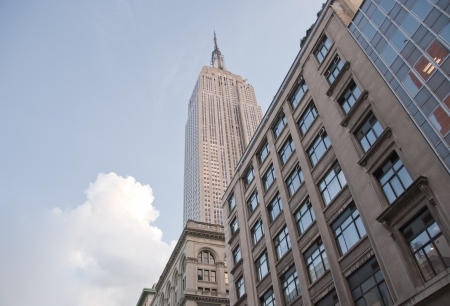 Majesty of the Empire State Building in New York City, Street View