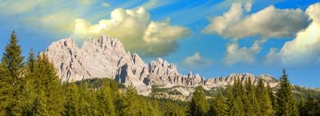 Wonderful Alps Landscape - Italian Dolomites in Summer  photo