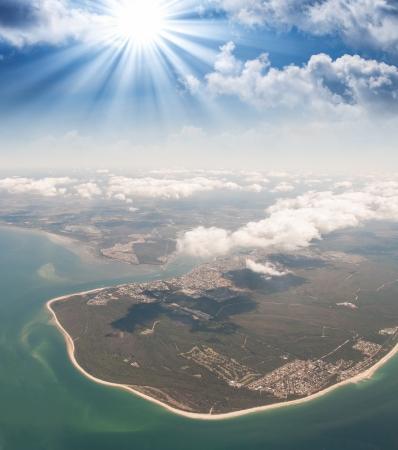 pristine coral reef: Meraviglioso scenario barriera corallina nel Queensland, Australia.