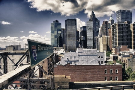 Architecture and Colors of New York City Stock Photo - 18789214