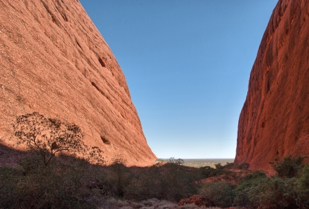 Beautiful landscape of Australian Outback - Northern Territory. photo