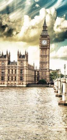 palace of westminster: Houses of Parliament, Westminster Palace - London gothic architecture - UK