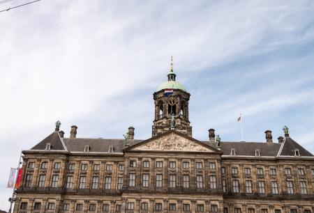 Amsterdam, Netherlands. Beautiful typical city architecture.