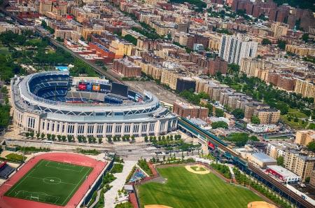 bronx county: NEW YORK CITY - JUN 14: Yankee Stadium is a stadium located in The Bronx in New York City. It is the home ballpark for the New York Yankees. June 14, 2013 in New York City, USA. Editorial