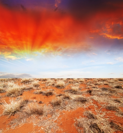 ranges: Wonderful Outback Colors of Australia. Stock Photo
