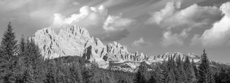 Wonderful Alps Landscape - Italian Dolomites in Summer. photo