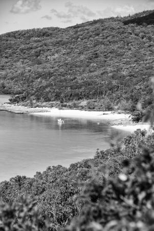 Whitehaven Beach, Queensland - Australia. Hill Inlet. photo