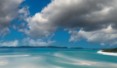 whitsundays: Wonderful colors of Whitsunday Islands on winter season, Australia.