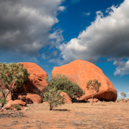 Beautiful colors of Outback in winter season - Australia - Northern Territory photo