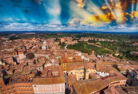 Buildings of Tuscany, Italy. photo