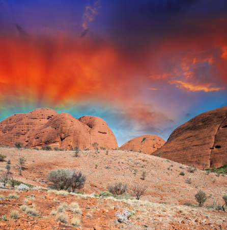 Australia. Wonderful colors of the Outback in August.