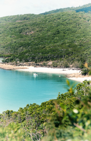 whitehaven: Whitehaven Beach, Queensland - Australia. Hill Inlet.