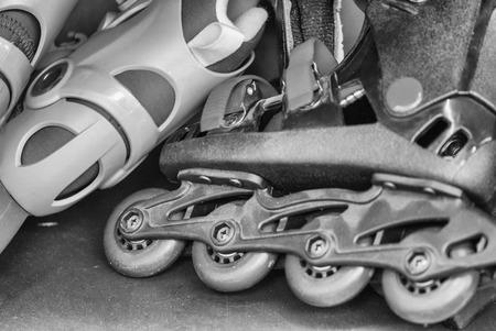 Roller skate. photo