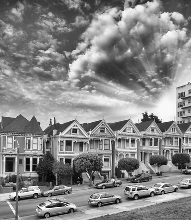 Alamo Square Homes, San Francisco. photo