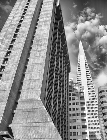 transamerica: San Francisco skyline, USA. Stock Photo