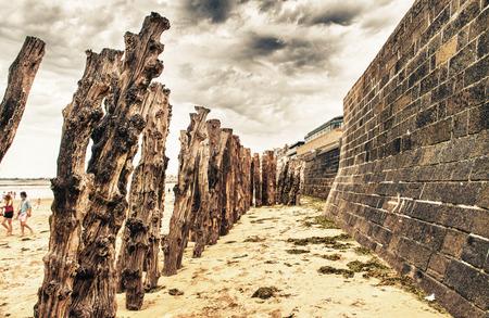 st malo: Antica citt� di St Malo, in Bretagna, Francia. Archivio Fotografico