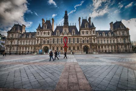 ville: Paris. Hotel de Ville. Editorial