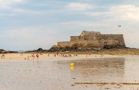 st malo: Antica citt� di St Malo, in Bretagna, Francia. Editoriali