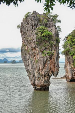 phang nga: Phang Nga Bay Island, Thailand.