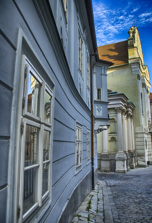 Ancient architecture of Bratislava - Slovakia photo