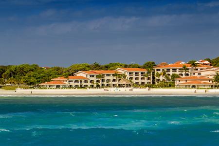 carmen: Coast of Playa del Carmen, Mexico.