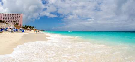 clear waters: Crystal clear turquoise waters of Caribbean.
