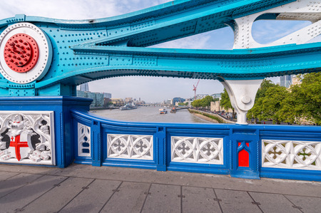 magnificence: Magnificence of Tower Bridge on a sunny day - London.