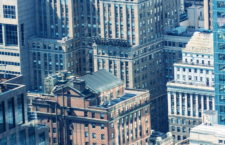 Old buildings of New york. photo