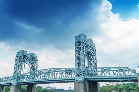 Kennedy: Robert F. Kennedy Bridge, New York City. Stock Photo