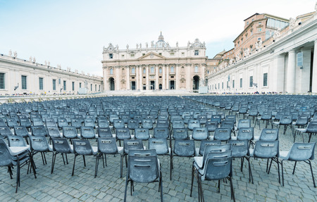 St Peter Square in Vatican City.