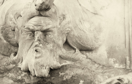campo dei miracoli: Pisa, Tuscany. Sculpture detail in Square of Miracles.