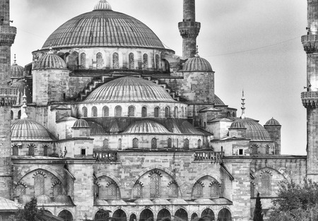 the magnificence: Magnificence of Blue Mosque, Istanbul.