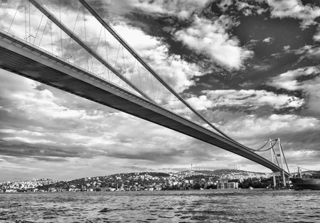 magnificence: Magnificence of Bosphorus Bridge, Istanbul.