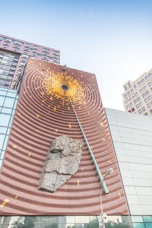 交通: ニューヨーク シティ - 2013 年 5 月 19 日: ニューヨーク市の建物。都市は主要な米国魅力以上 5000 万の訪問者に毎年あります。