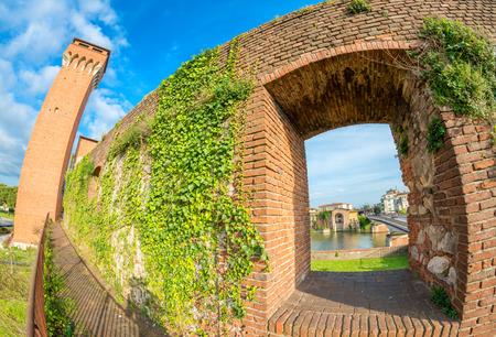 citadel: The Citadel, Pisa - Ancient landmark of Tuscany.