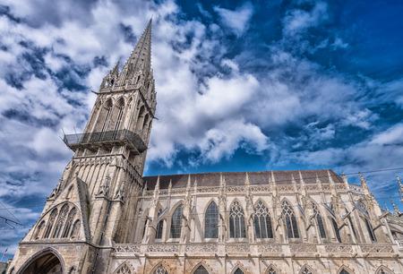 pierre: Church of Saint Pierre, Caen.