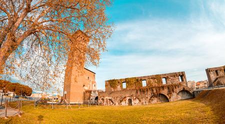 The Citadel, Pisa - Ancient landmark of Tuscany. photo
