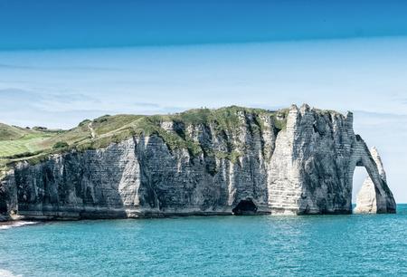 normandy: Etretat, Normandy - France.