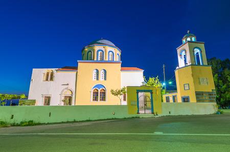 kos: Architectural detail in Kos, Greece.